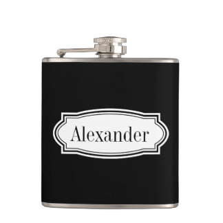 Personalized drink flask   classy gift for men