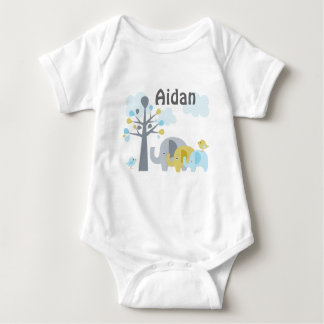 "Personalized ""Elephant Love""  baby Shirt"