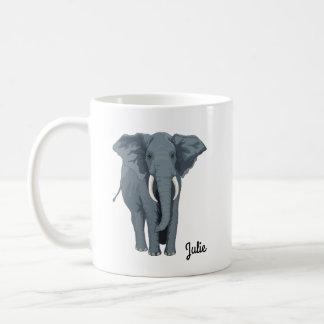 Personalized Elephant Mug