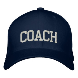 Personalized & Embroidered Coach Cap | Hat Embroidered Hat