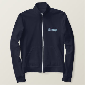 Personalized Embroidered Names Embroidered Jacket