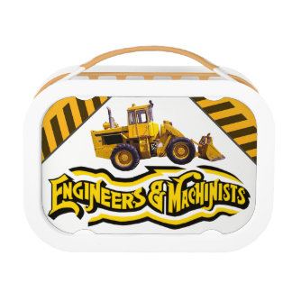 Personalized Engineers and Machinists Construction Lunch Box