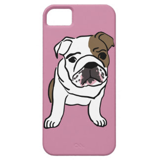 Personalized English Bulldog Puppy Barely There iPhone 5 Case