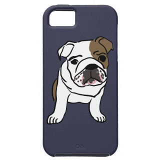 Personalized English Bulldog Puppy Tough iPhone 5 Case
