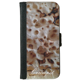 Personalized English Crumpet iPhone 6S Wallet iPhone 6 Wallet Case