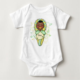 Personalized Ethnic Baby Baby Bodysuit