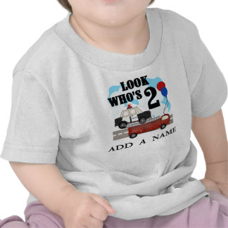 Personalized Everyday Heroes 2nd Birthday tshirt