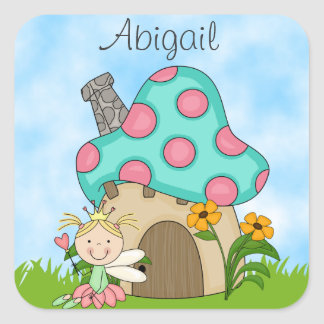Personalized Fairy Princess Sticker