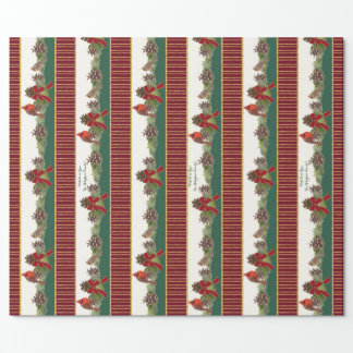 Personalized Family Christmas Cardinal Pine Cone