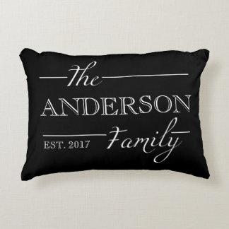 Personalized Family Gift Custom Name Home Decor Decorative Cushion