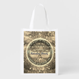 Personalized Family Tree Bag