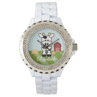 Personalized Farm Cow Watch