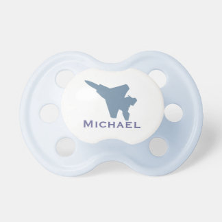 Personalized Fighter Jet Pacifier