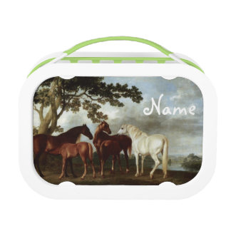 Personalized Fine Art - Horses Lunchbox