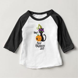 Personalized First Halloween 2017 Tee