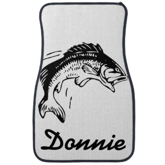 Personalized Fish Graphic Floor Mats