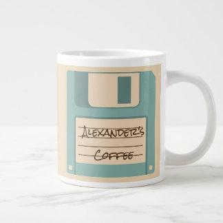 Personalized Floppy Disk Coffee Mug
