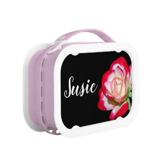 Personalized Floral lunchbox