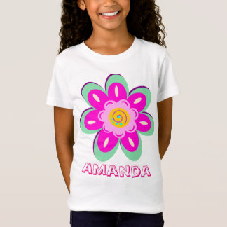 Personalized flower T-Shirt
