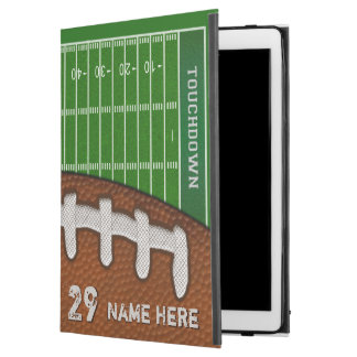 Personalized Football iPad Pro Covers