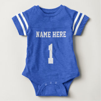 Personalized Football Jersey One Piece Body Suit Tees