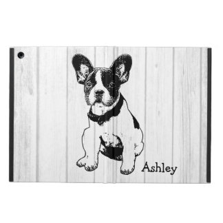 Personalized French Bulldog Poppy Pick Your Color iPad Air Cover