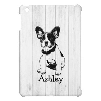 Personalized French Bulldog Poppy Pick Your Color iPad Mini Cover