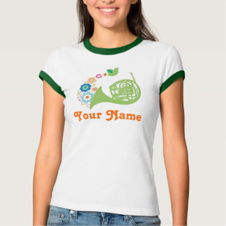 Personalized French Horn Gift T-Shirt