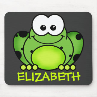 Personalized Frog Mousepad