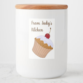 Personalized from kitchen of Mason jars Food Label