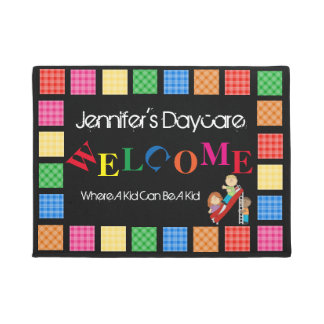 Personalized Fun Daycare Welcome Doormat