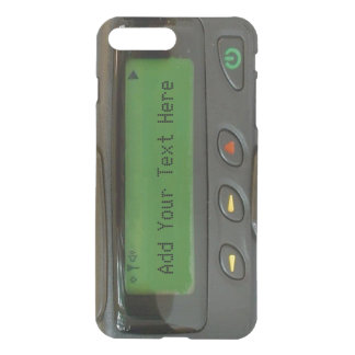 Personalized Funny 90s Old School Pager iPhone 7 Plus Case