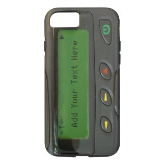 Personalized Funny 90s Old School Pager iPhone 8/7 Case