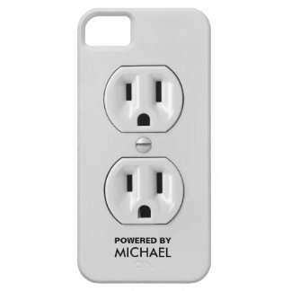 Personalized Funny Power Outlet iPhone 5 Covers