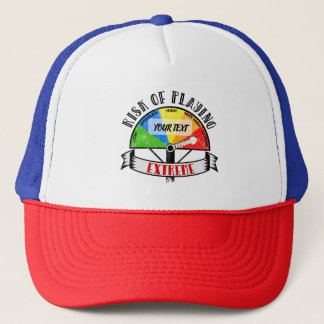 Personalized Funny Sport or Music design Trucker Hat