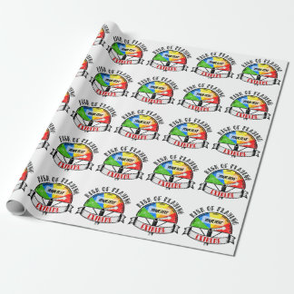 Personalized Funny Sport or Music design Wrapping Paper