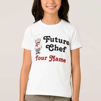 Personalized Future Chef Kids Tee
