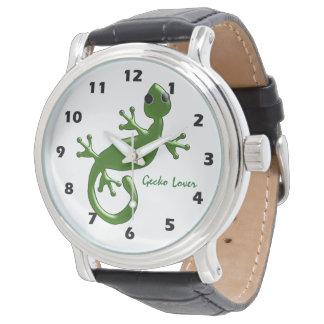 Personalized Gecko Design Watch
