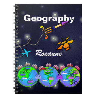 Personalized Geography NoteBook