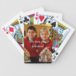 Personalized Gifts For Grandma Playing Cards