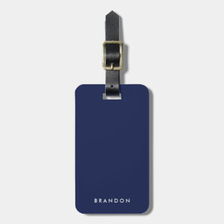 Personalized Gifts For Men Blue Luggage Tags
