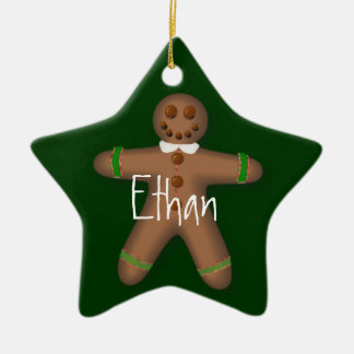 Personalized Gingerbread Boy Ornament
