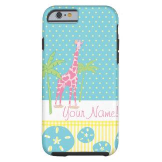Personalized Giraffe iPhone 6 case