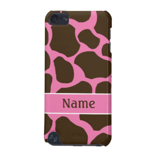 Personalized Giraffe Print iPod Touch Phone Case iPod Touch 5G Cases