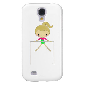 Personalized Girls Gymnastic apparel & accessories Galaxy S4 Cases