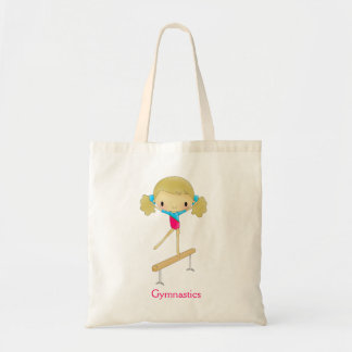 Personalized Girls Gymnastic tote bag