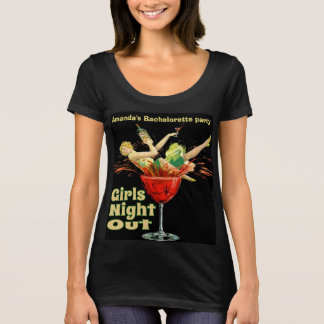 Personalized girl's night out T-Shirt