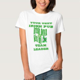 Personalized girls St Patrick's  day Tee Shirts