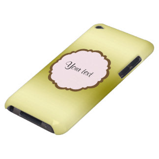 Personalized Glamorous Gold Case-Mate iPod Touch Case