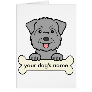 Personalized Glen of Imaal Terrier Greeting Card